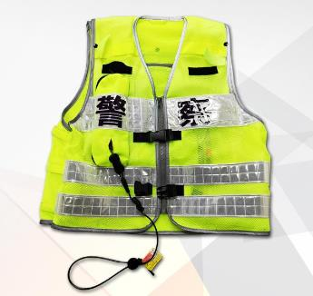 气囊式骑行防护背心 DDG-HBH