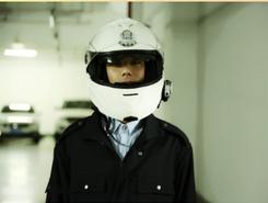 交巡警执法记录头盔